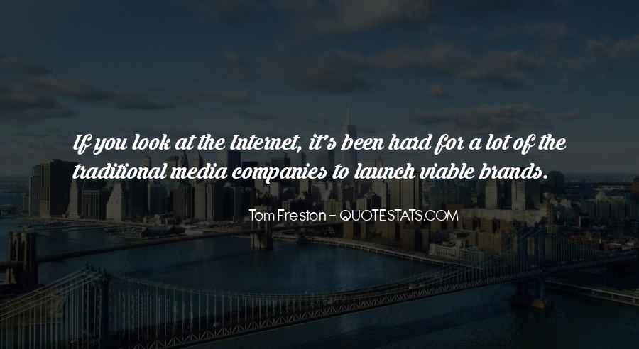 Best Tom Brands Quotes #1773506