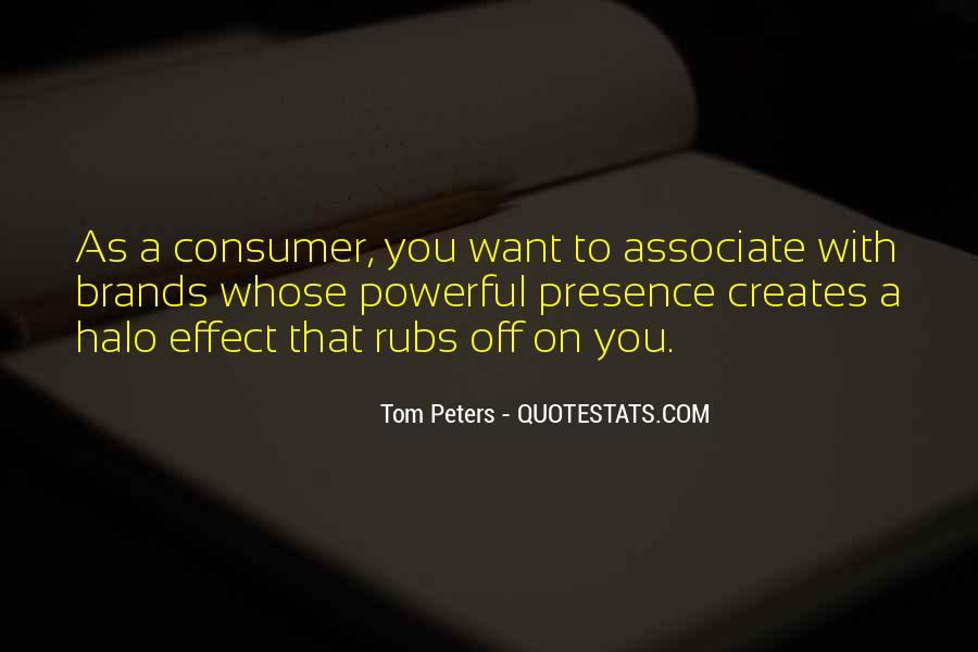 Best Tom Brands Quotes #334783