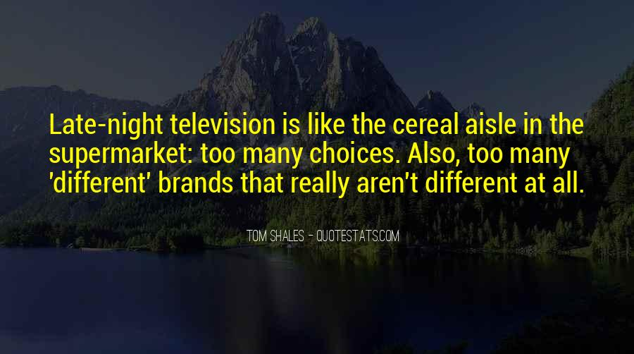 Best Tom Brands Quotes #43641