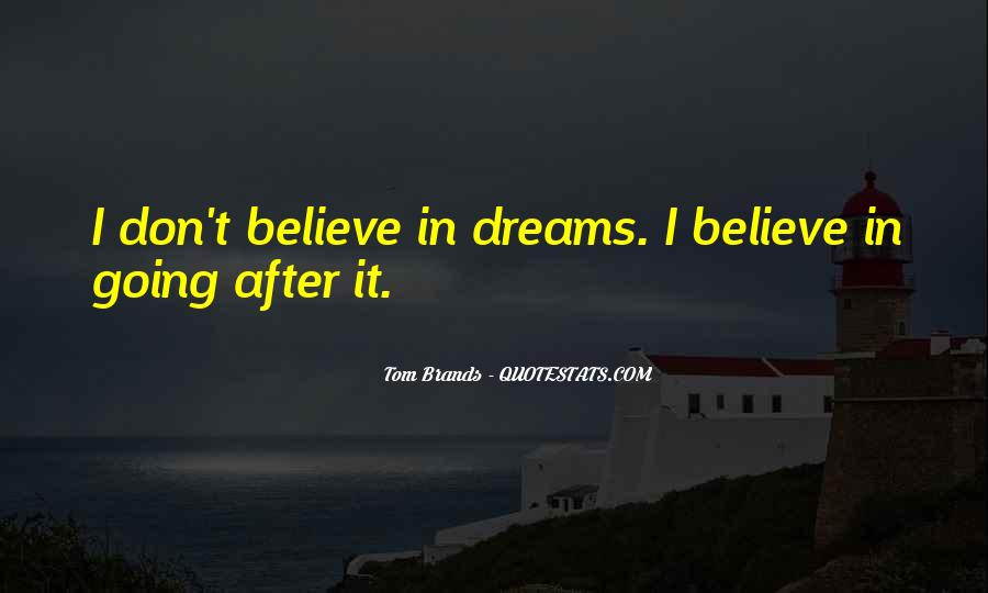 Best Tom Brands Quotes #830209