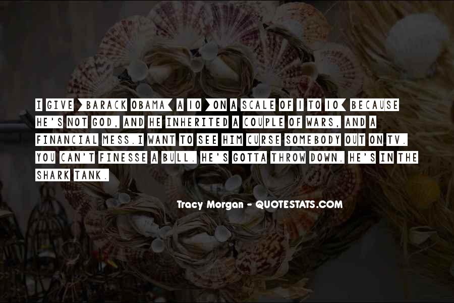 Best Tracy Morgan Quotes #68809