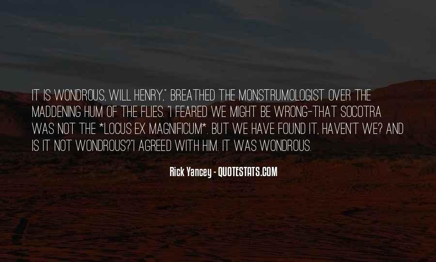Quotes About Magnificum #334822