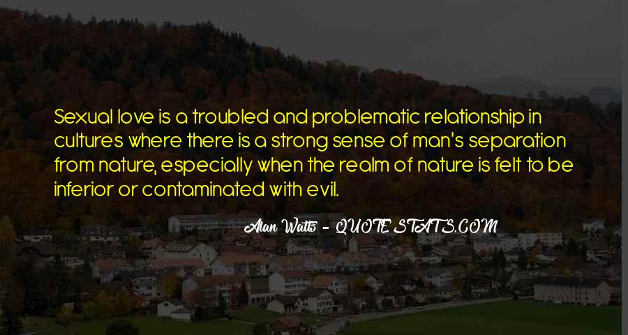 Best Troubled Relationship Quotes #595747