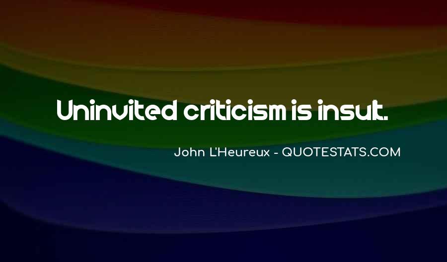 Best Uninvited Quotes #567456
