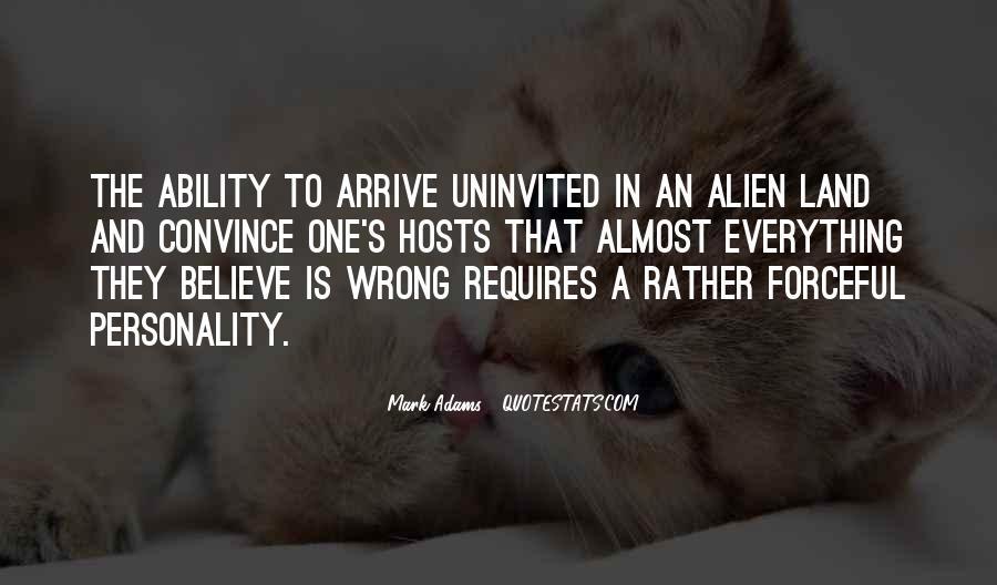 Best Uninvited Quotes #928004