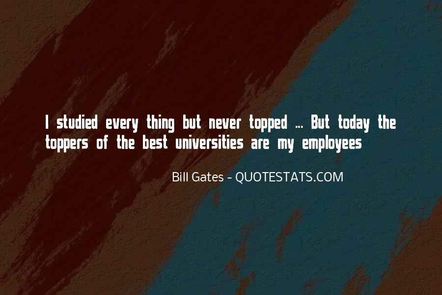 Best Universities Quotes #1669711