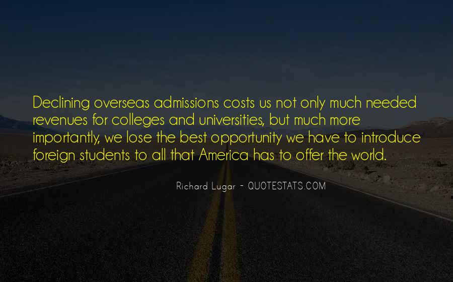 Best Universities Quotes #690122