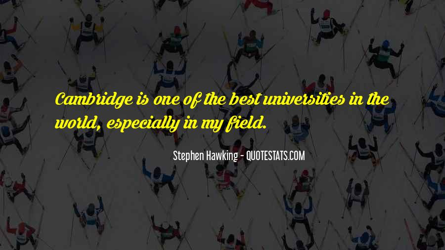 Best Universities Quotes #810714