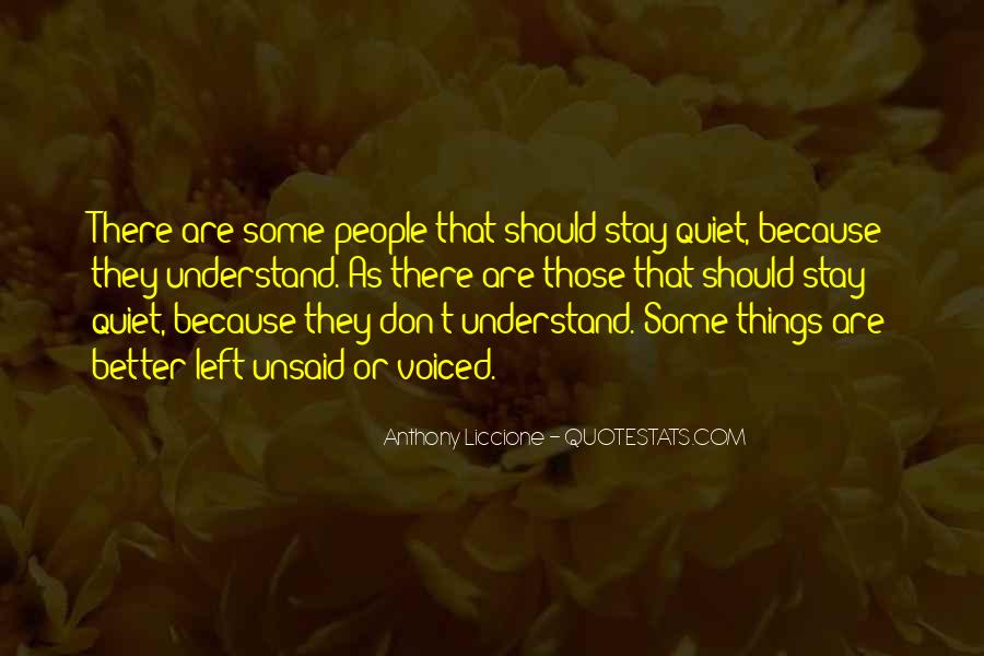 Top 48 Best Unsaid Quotes Famous Quotes Sayings About Best Unsaid