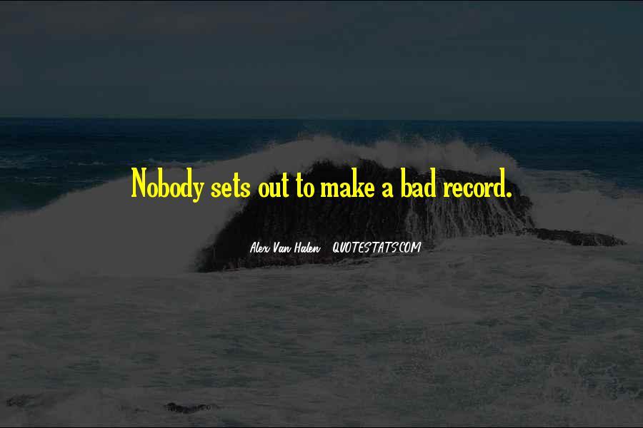 Best Van Halen Quotes #104775