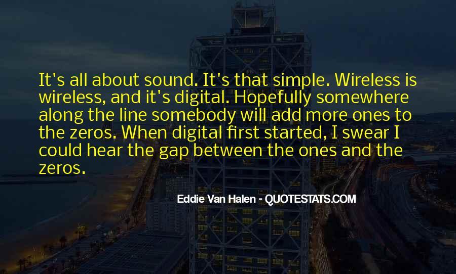 Best Van Halen Quotes #118989