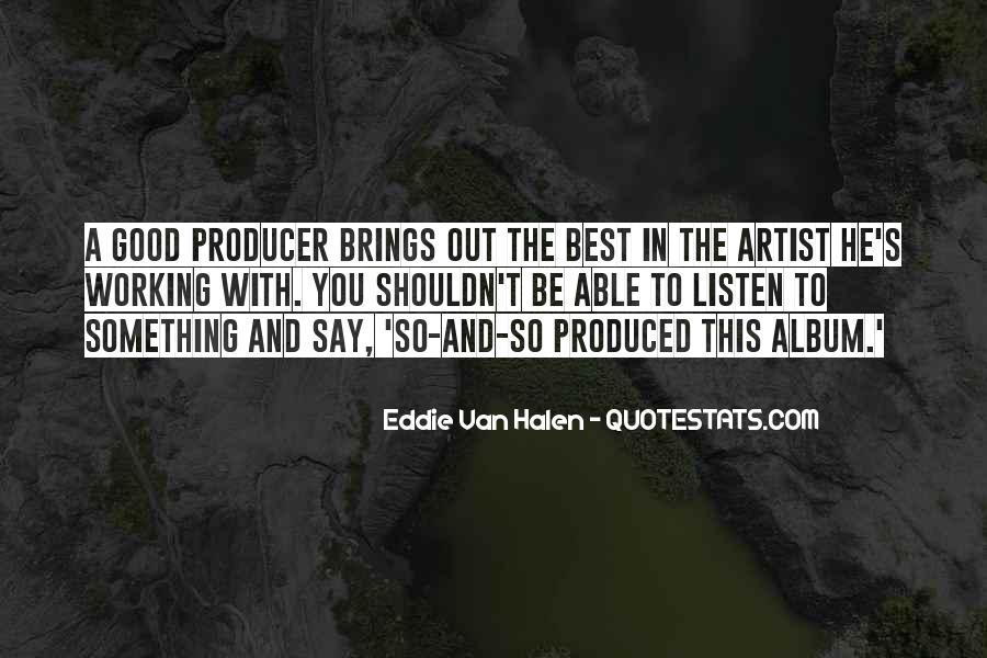 Best Van Halen Quotes #1612976