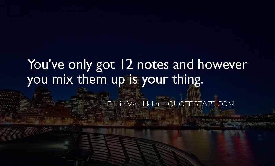 Best Van Halen Quotes #182064