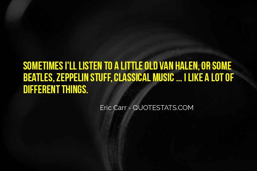 Best Van Halen Quotes #289505