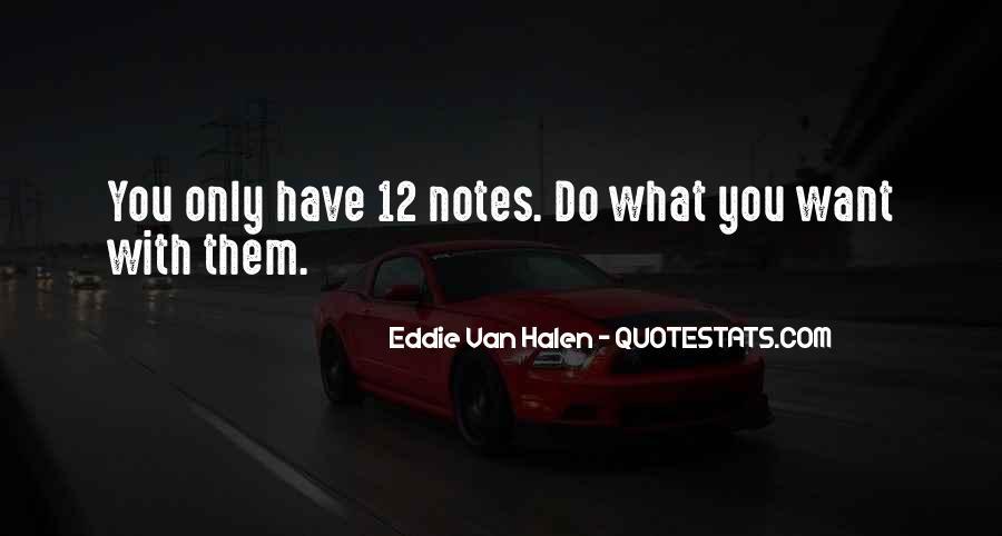 Best Van Halen Quotes #322288