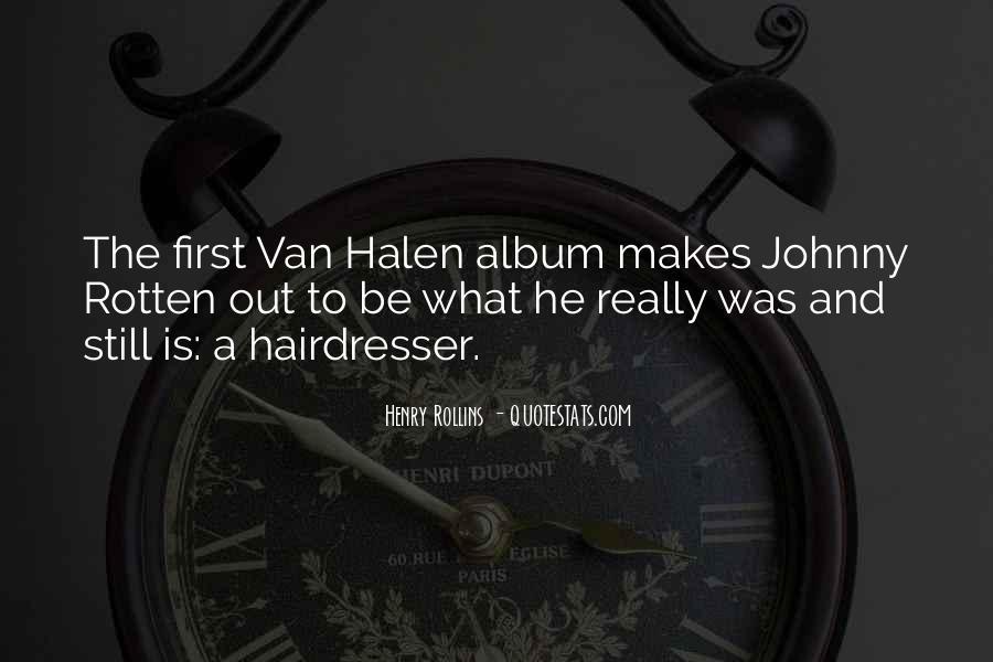 Best Van Halen Quotes #339362