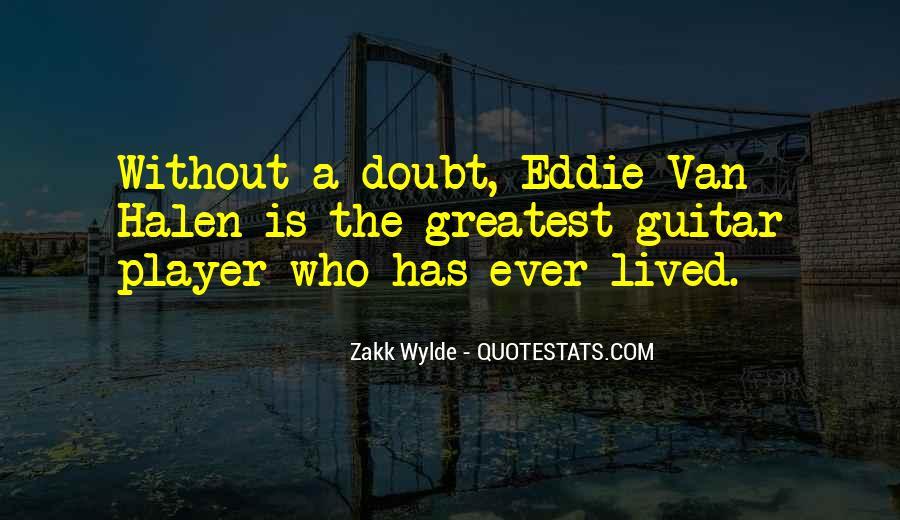 Best Van Halen Quotes #364713