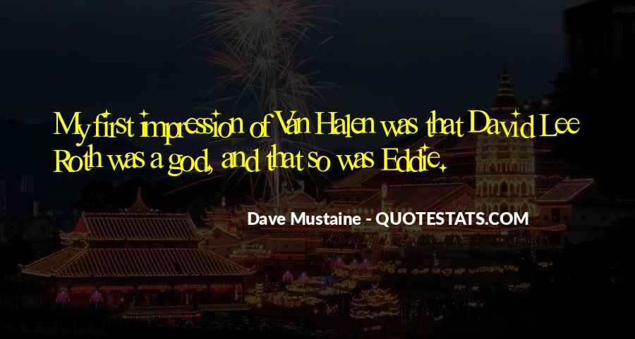 Best Van Halen Quotes #373527