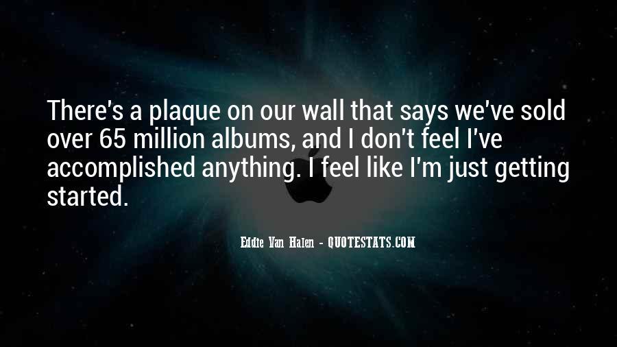 Best Van Halen Quotes #481768