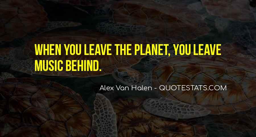 Best Van Halen Quotes #4949