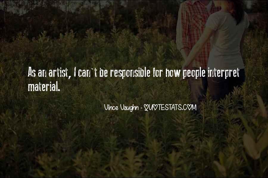 Best Vince Vaughn Quotes #8661