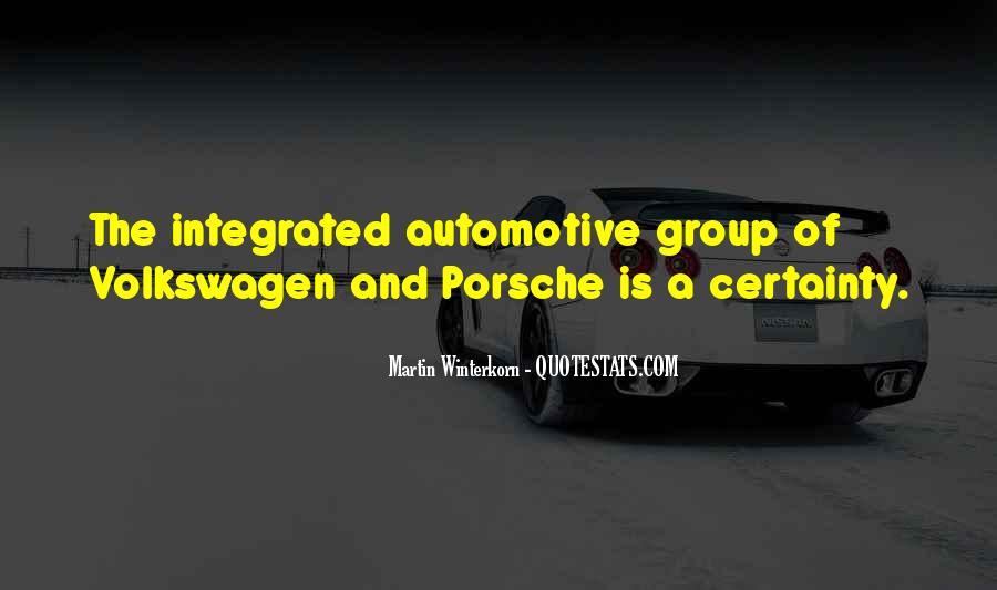 Best Volkswagen Quotes #572561