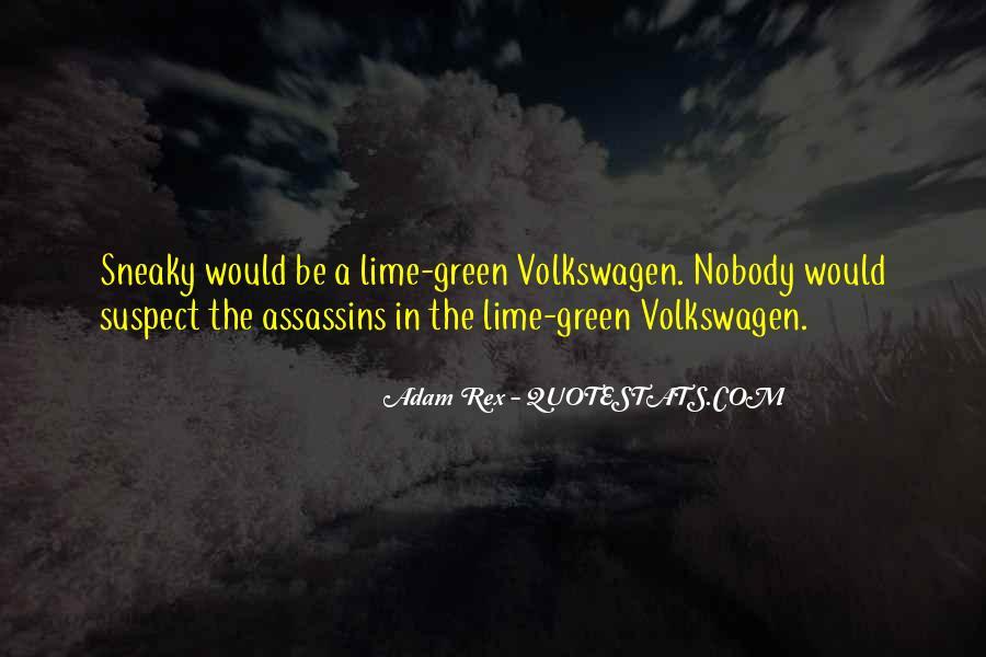 Best Volkswagen Quotes #583807
