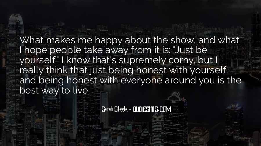 Best Way To Live Quotes #1145590