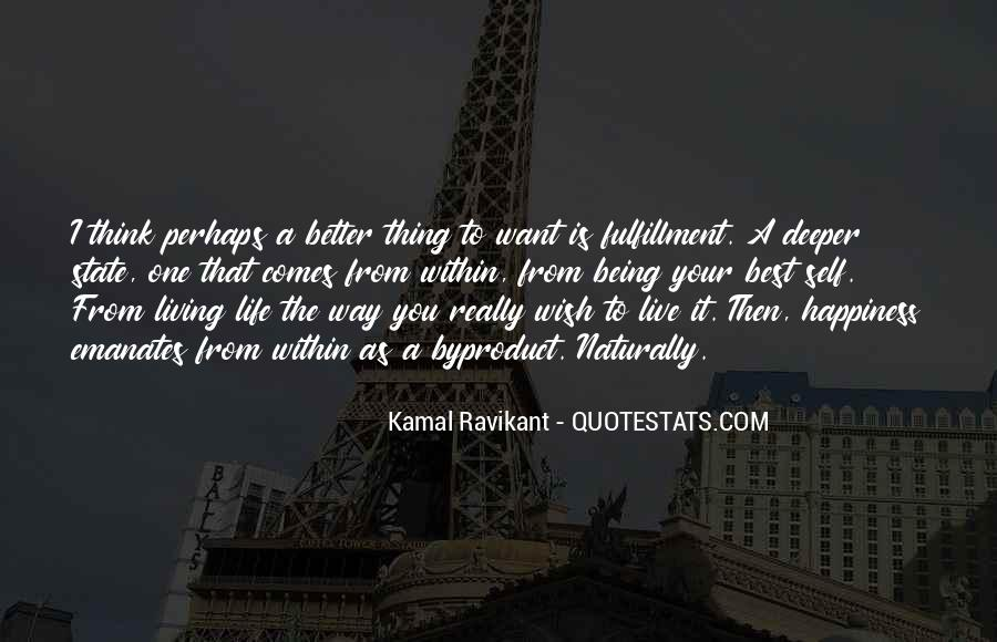 Best Way To Live Quotes #142112