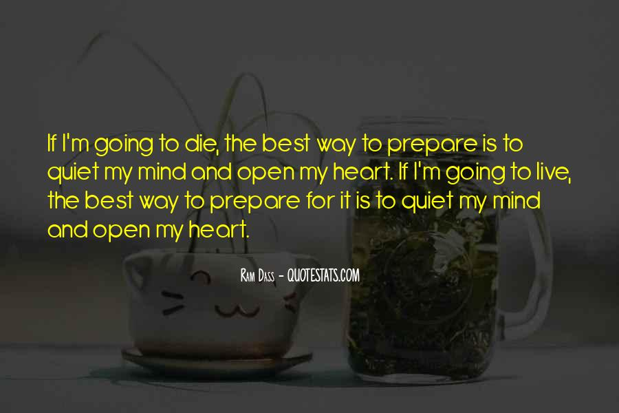 Best Way To Live Quotes #1581497