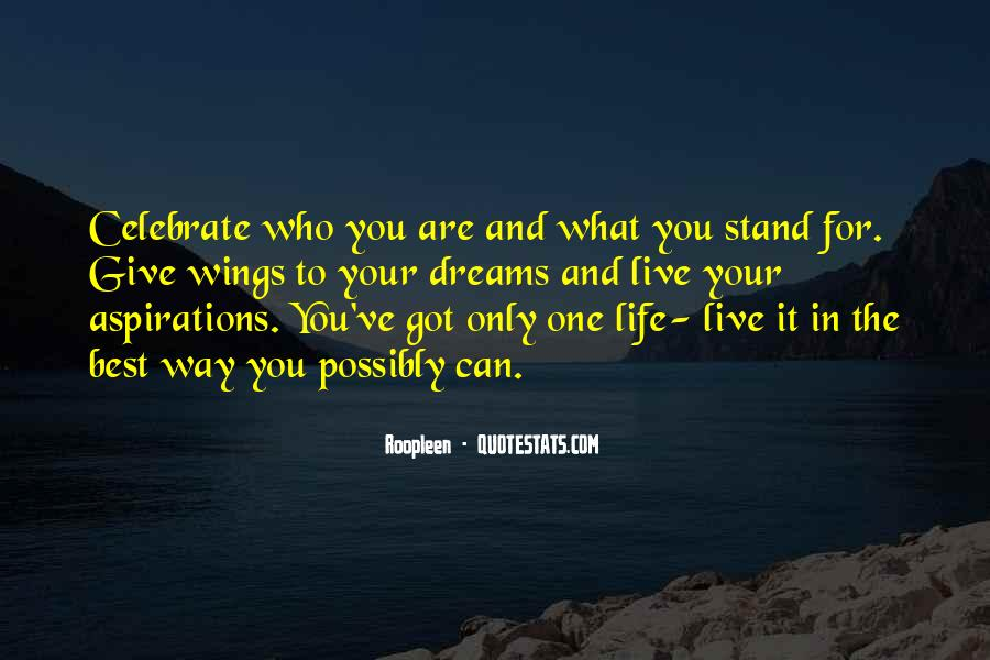 Best Way To Live Quotes #341747