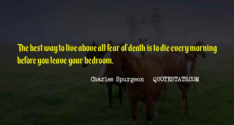 Best Way To Live Quotes #37435