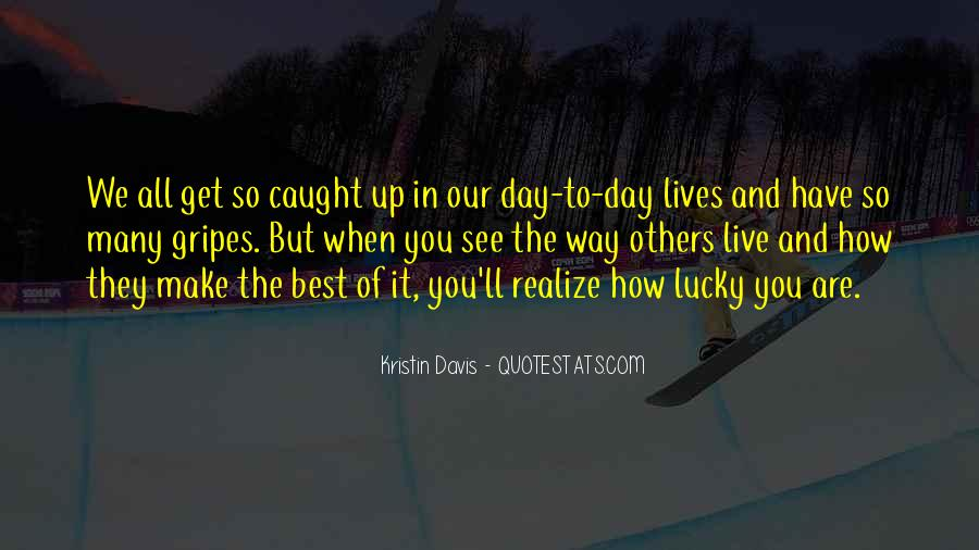 Best Way To Live Quotes #528113