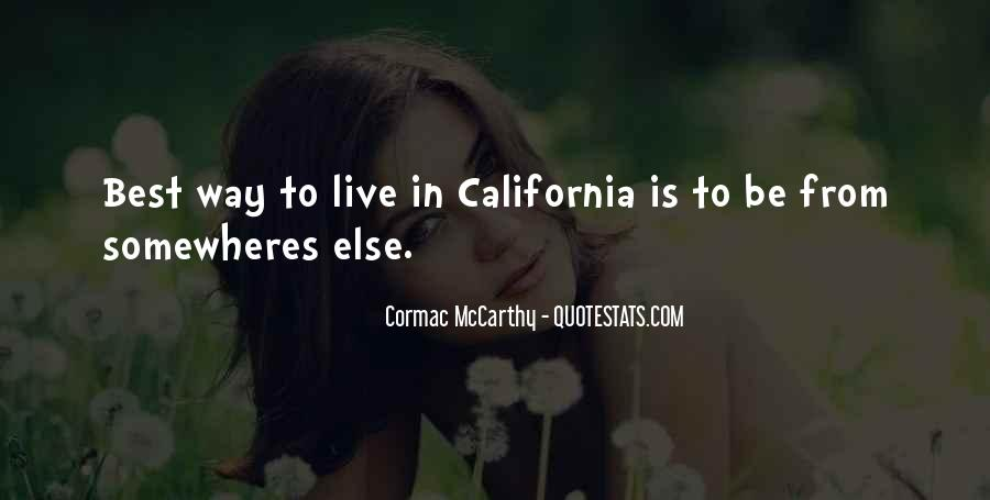 Best Way To Live Quotes #601708