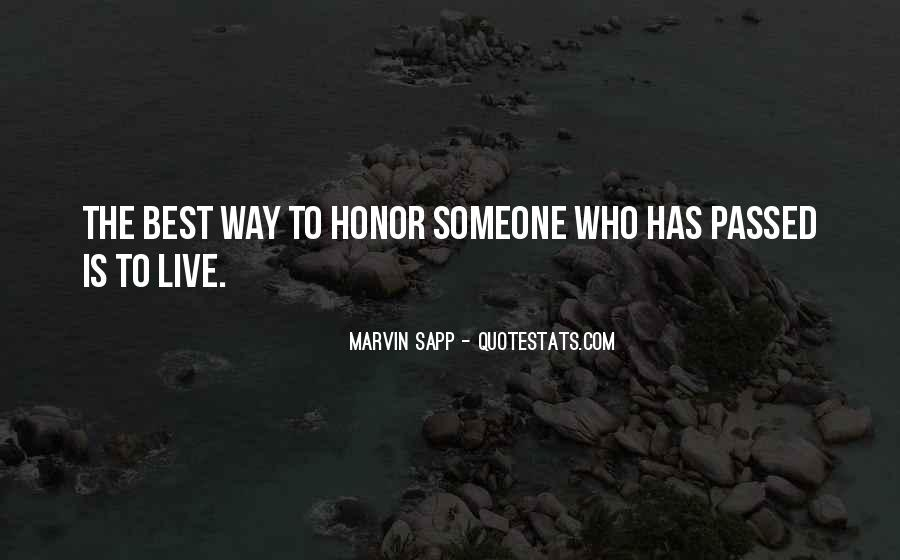 Best Way To Live Quotes #795392