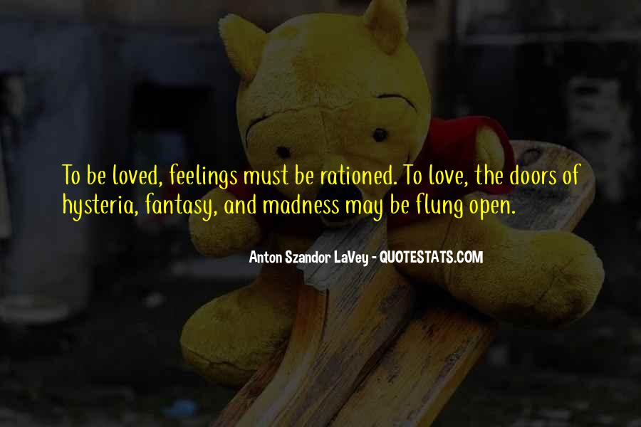 Quotes About Madness Of Love #276641