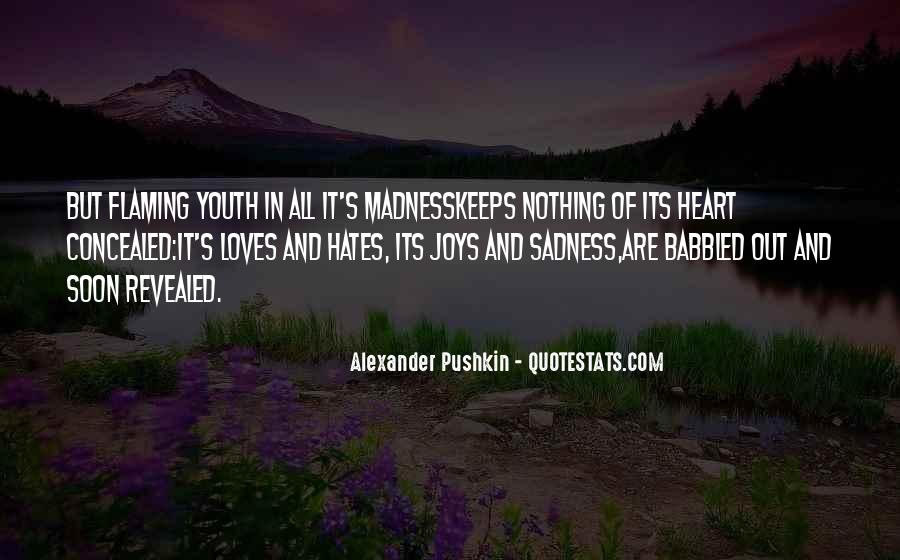 Quotes About Madness Of Love #594574