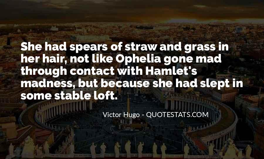 Quotes About Madness Hamlet #1288492