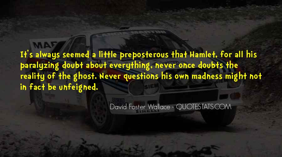 Quotes About Madness Hamlet #968095