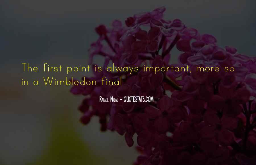 Best Wimbledon Quotes #188382
