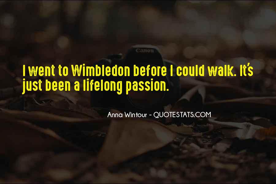 Best Wimbledon Quotes #415344