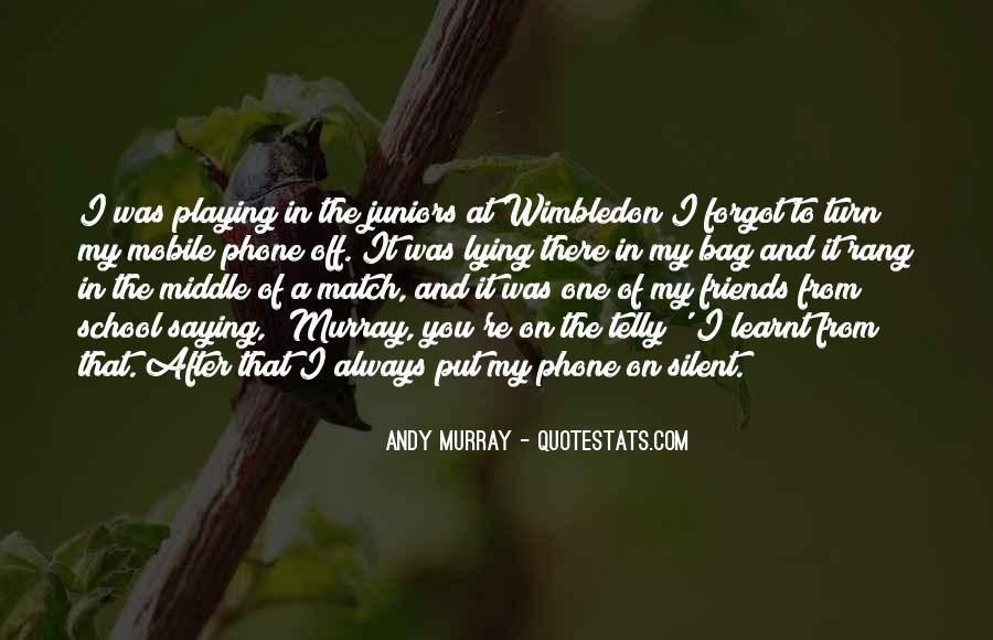 Best Wimbledon Quotes #550529