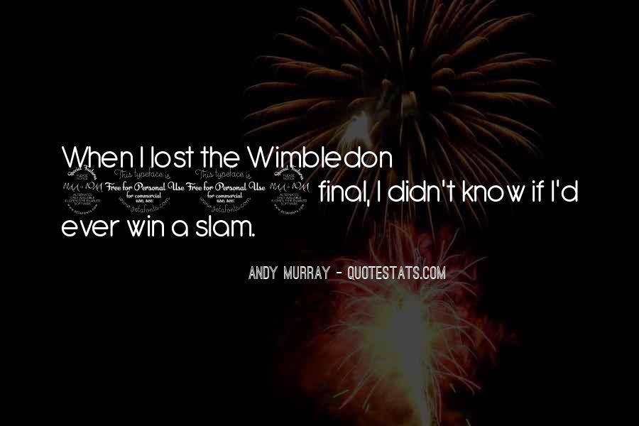 Best Wimbledon Quotes #641329