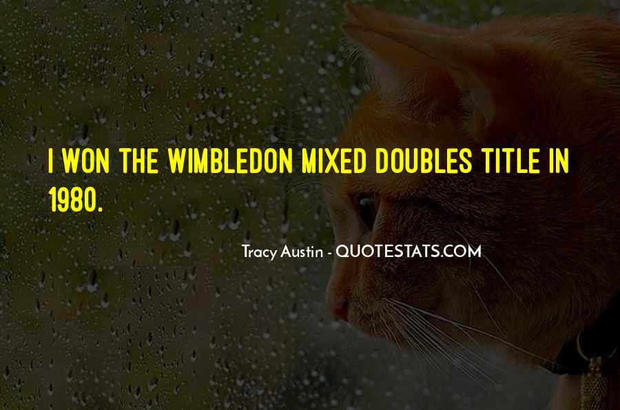 Best Wimbledon Quotes #694084
