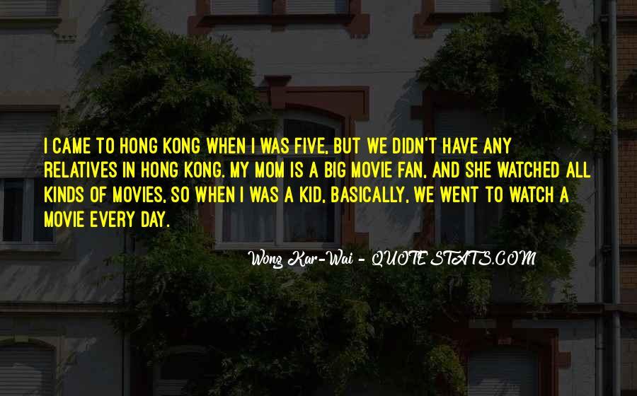 Best Wong Kar Wai Quotes #1006226