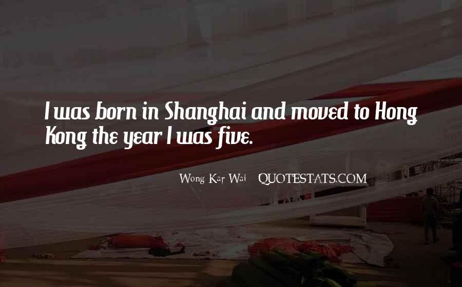 Best Wong Kar Wai Quotes #1233427