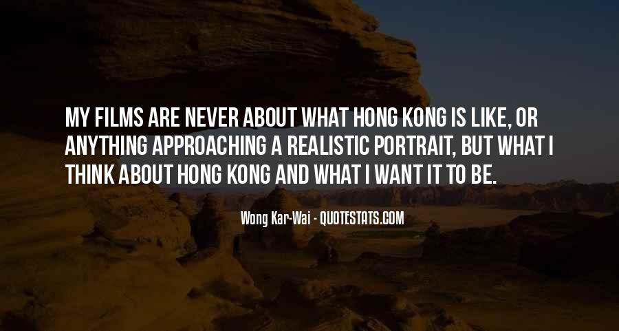 Best Wong Kar Wai Quotes #1607239