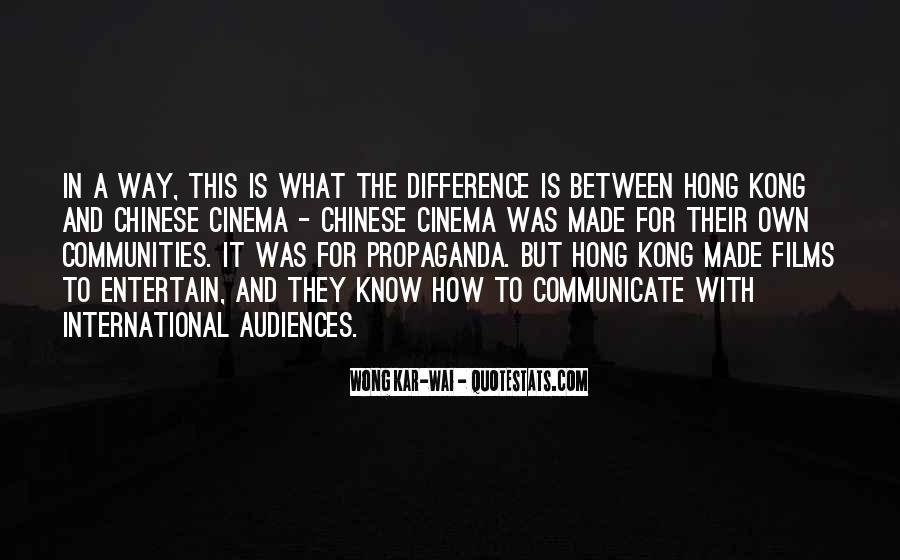 Best Wong Kar Wai Quotes #1699513