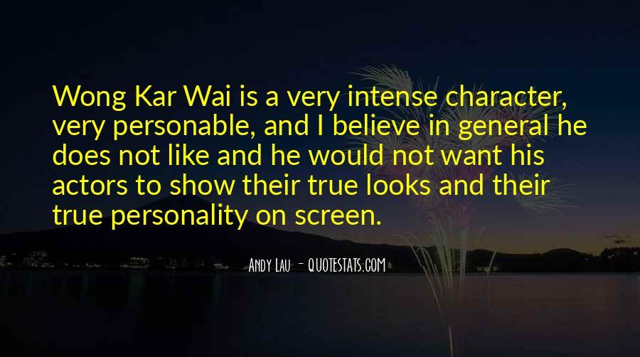 Best Wong Kar Wai Quotes #224786