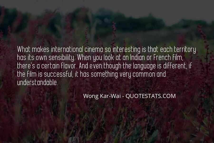Best Wong Kar Wai Quotes #29297